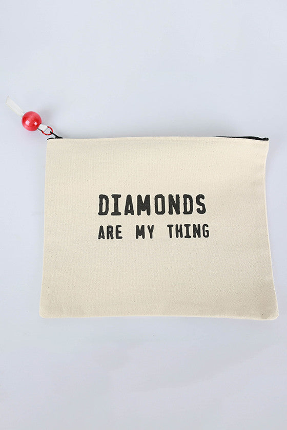 Canvas Bag Diamonds