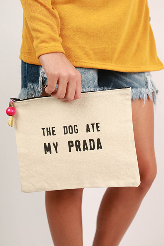 Canvas Bag My Prada