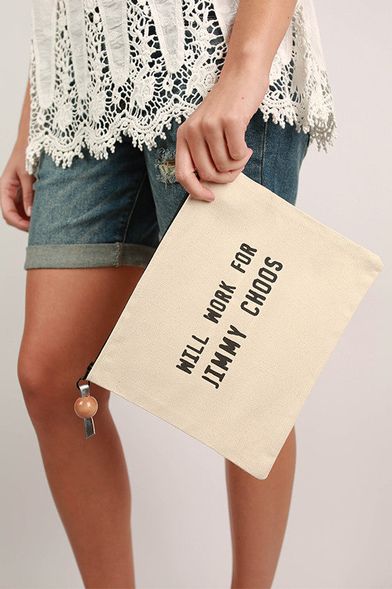 Canvas Bag Jimmy Choos