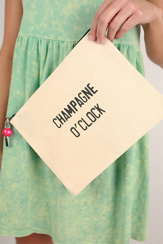 Canvas Bag Champagne