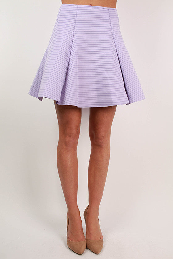 Tea With The Queen Skirt in Lavender