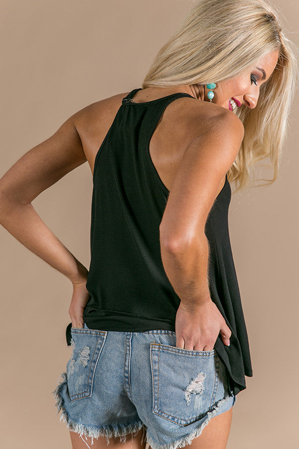 Original Beauty Racerback Tank in Black