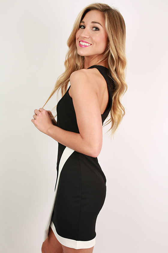 Night On The Town Dress in Black