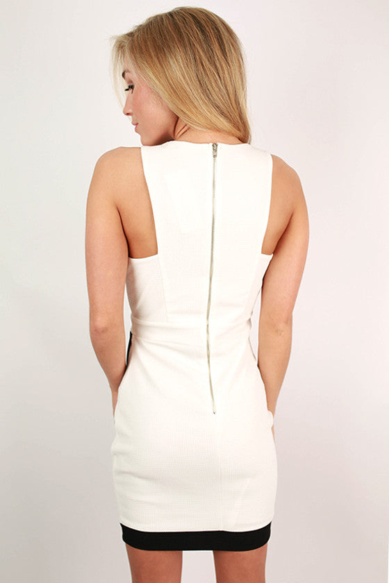 Night On The Town Dress in White