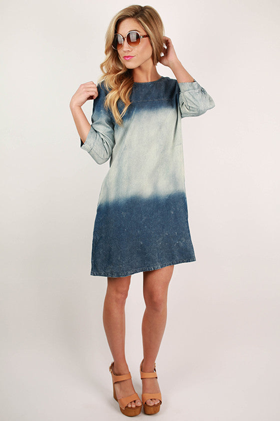 Dublin Nights Denim Dress