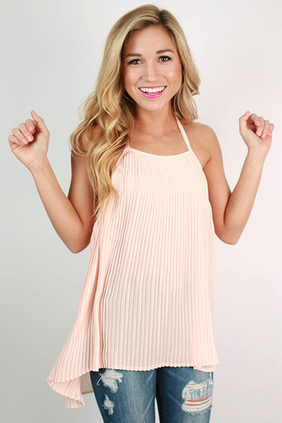 Sunkissed Gardens Top in Blush