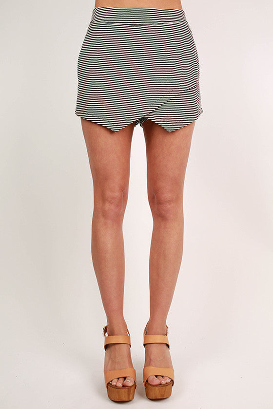 Pretty & Proper Stripe Shorts