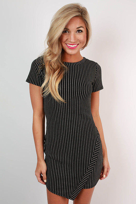 La Bella Vita Dress in Black