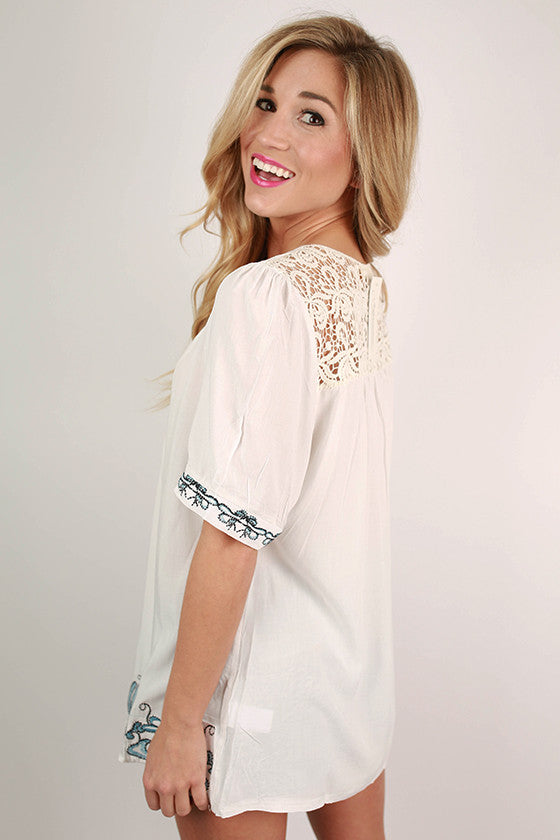 The Luxury Life Top in White