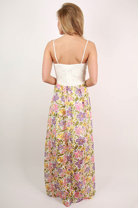 You are My Favorite Floral Maxi Dress