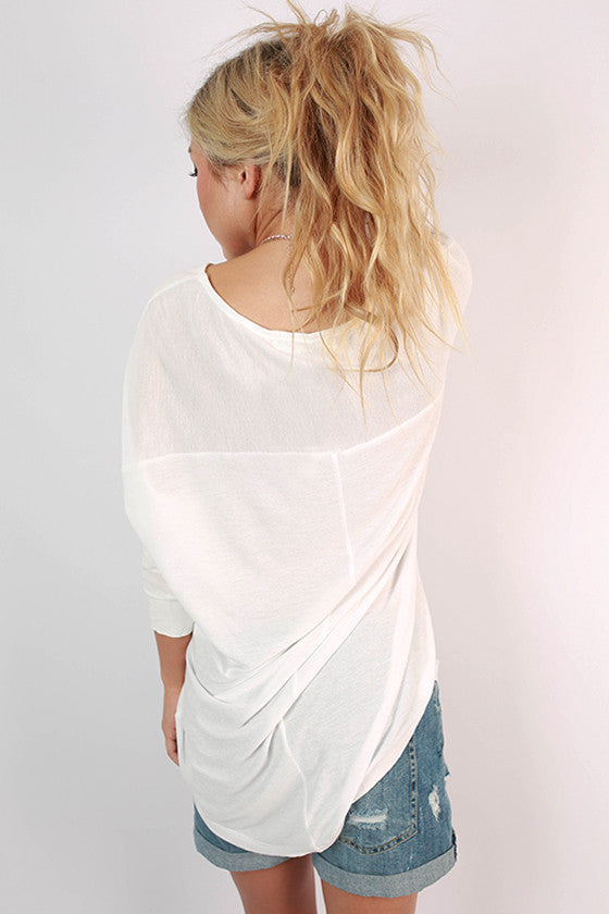 Endless Possibilities Top in White