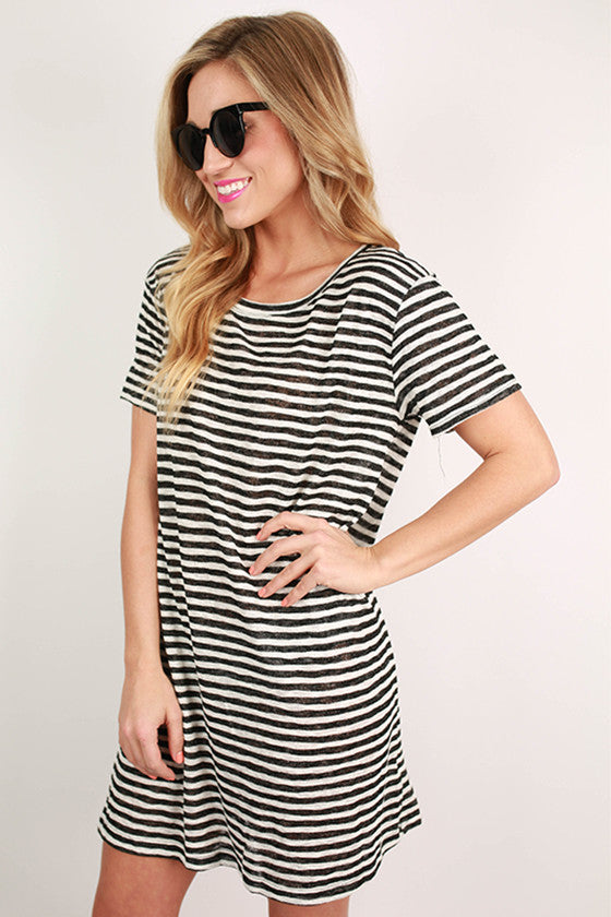 Over The Hills & Far Away Stripe Tunic
