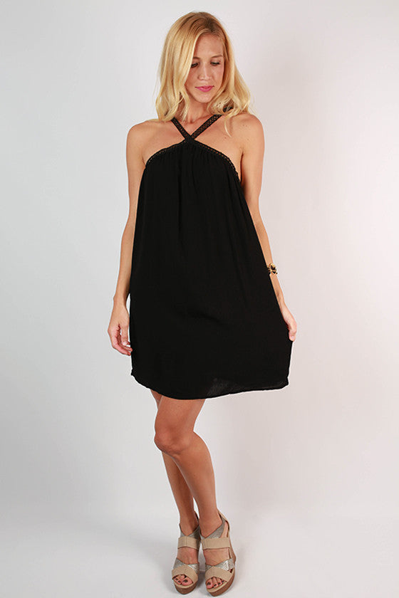 Effortlessly Chic Dress in Black