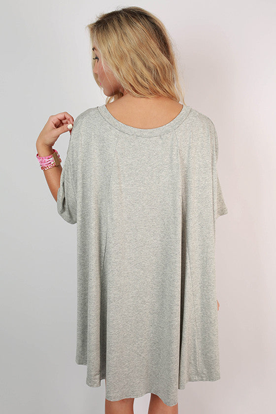 Once in a Lifetime Top in Grey