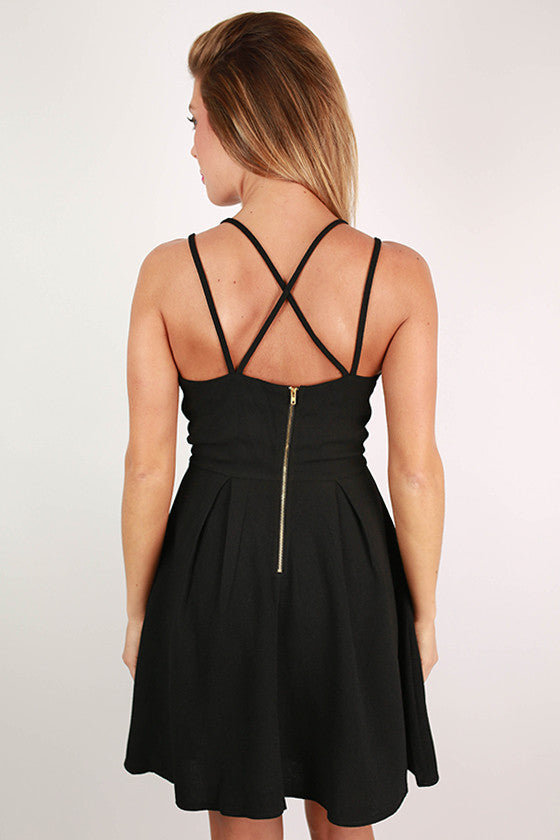 Crush On You Dress in Black