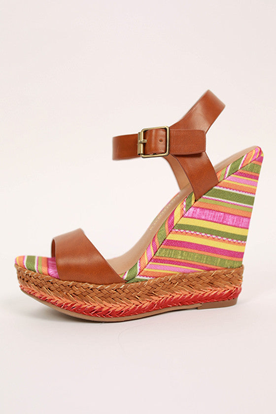 Mahalo Wedge in Camel