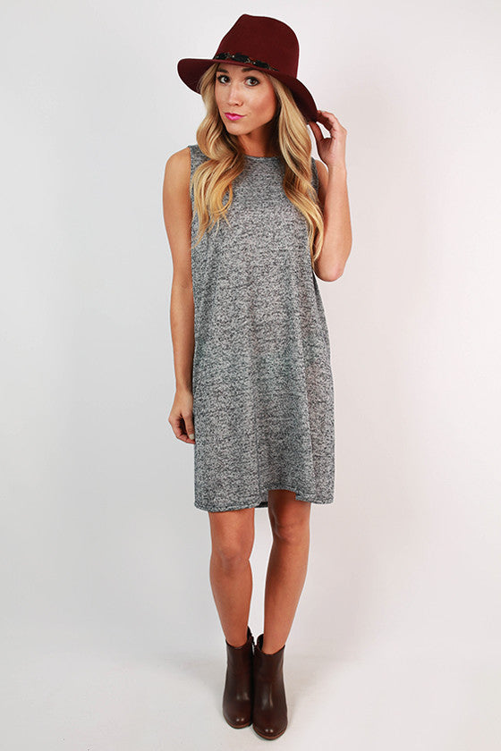 Summer At Cape Cod Dress in Navy