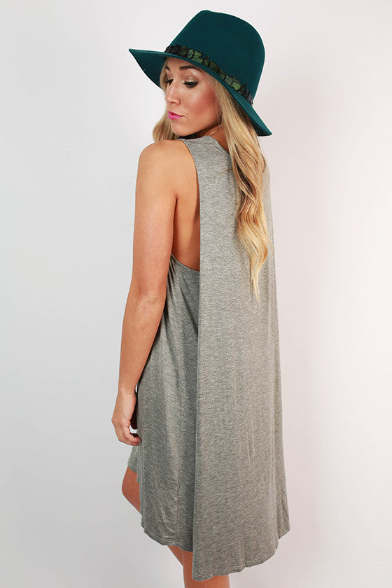Summer At Cape Cod Dress in Charcoal