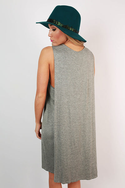 Summer At Cape Cod Dress In Charcoal Impressions Online