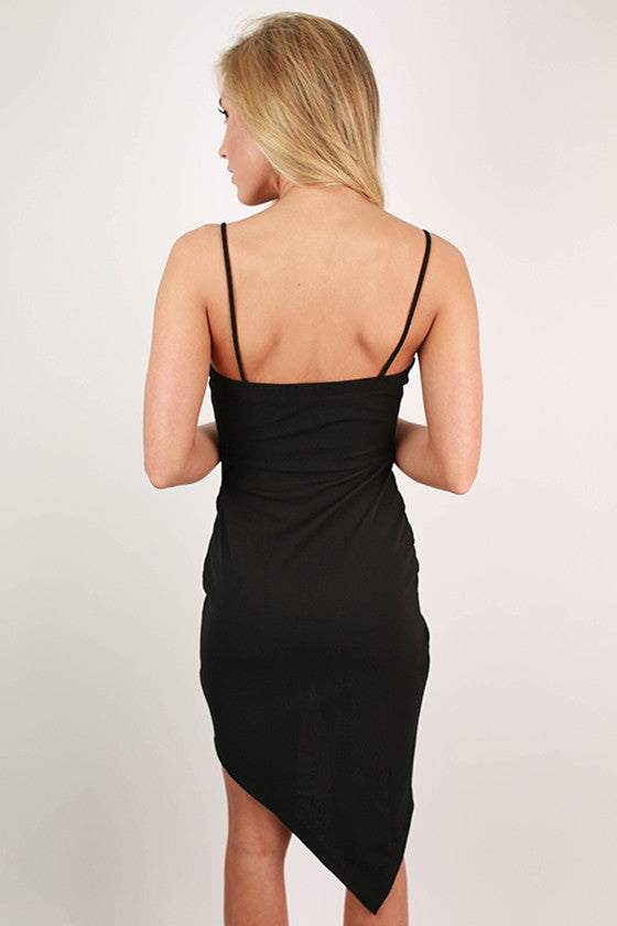 Bliss Bound Dress in Black