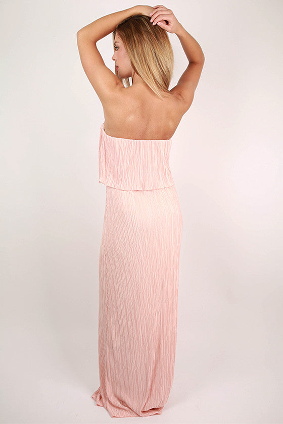 Girl's Best Friend Maxi Dress in Nude