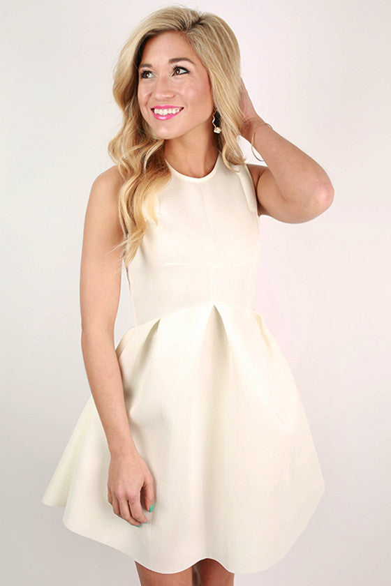 The Girl of The Hour Dress in Ivory