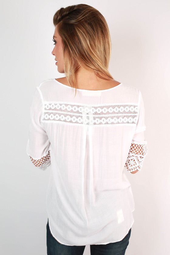 Hidden Valley Top in White