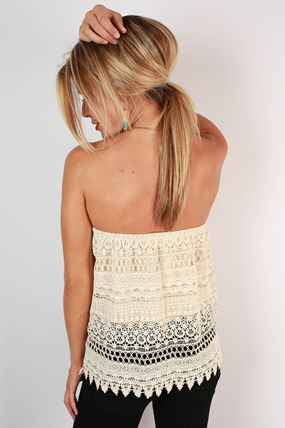 Boho Beauty Crochet Tube Top