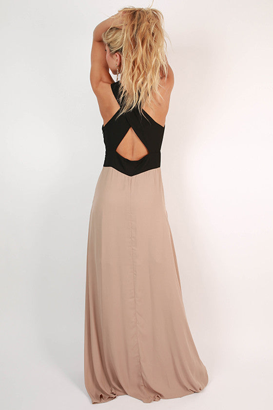 One In A Million Maxi in Taupe