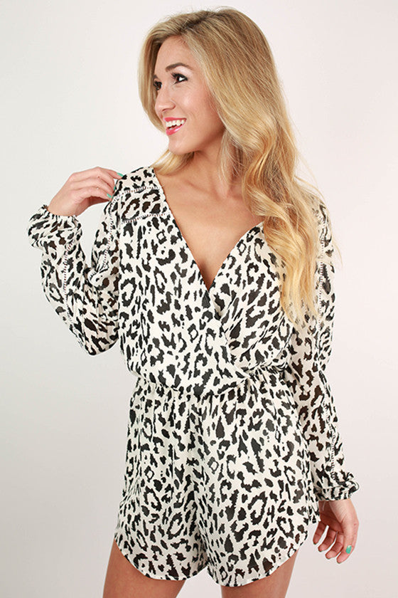 Cheetah So Chic Romper