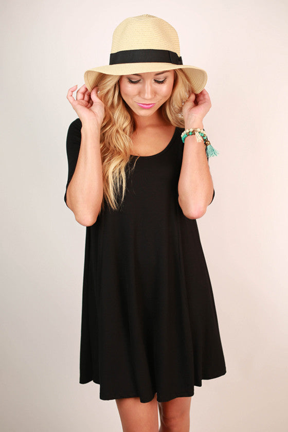 The Classic Girl Dress in Black