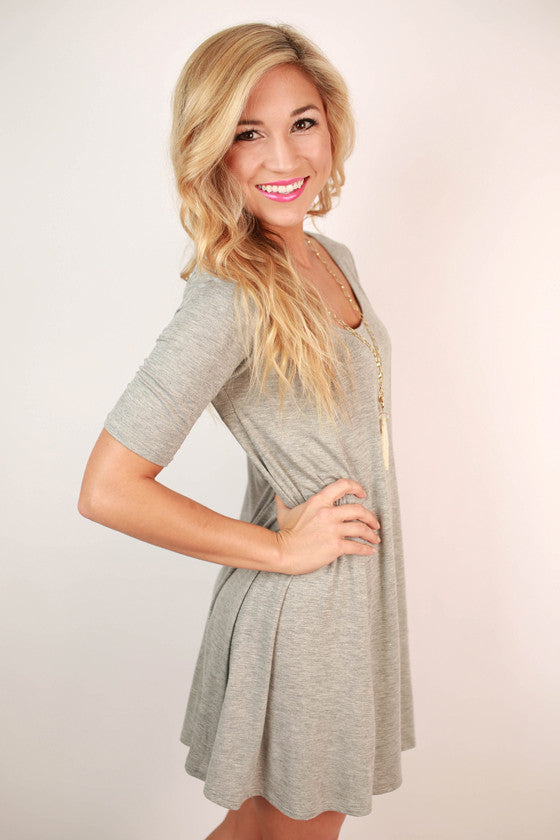 The Classic Girl Dress in Grey