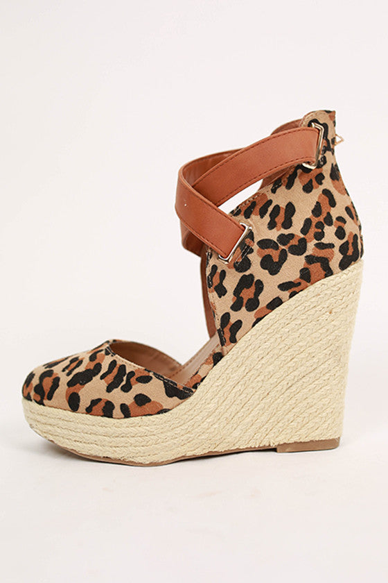 All You Need is Leopard Wedge