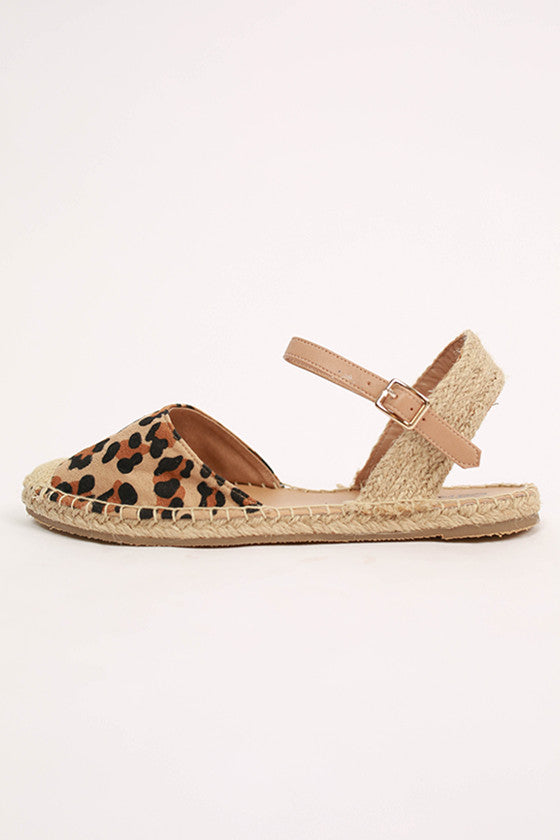 Fun & Games Sandal in Leopard