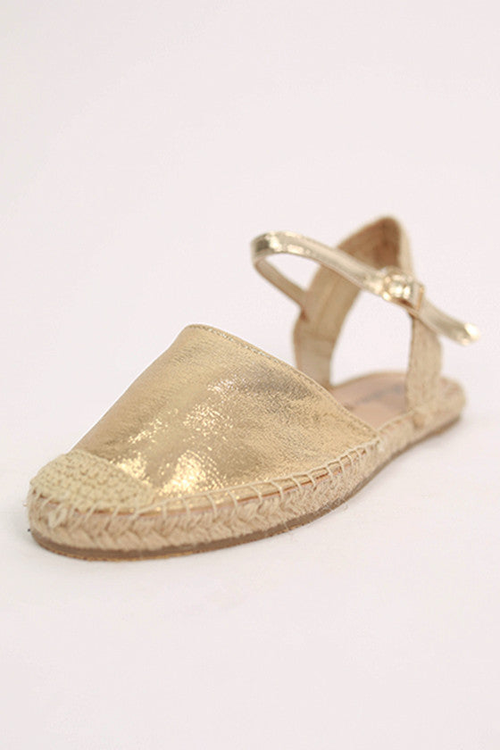 Fun & Games Sandal in Gold