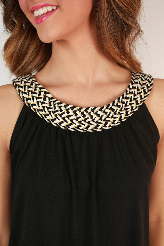 Embellished Neckline Tank University of Missouri