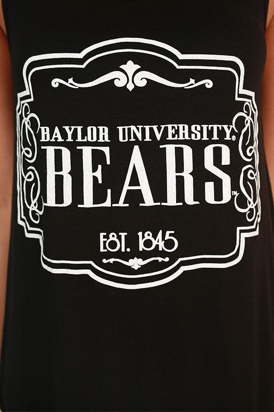 Crochet Trim Tank Baylor University