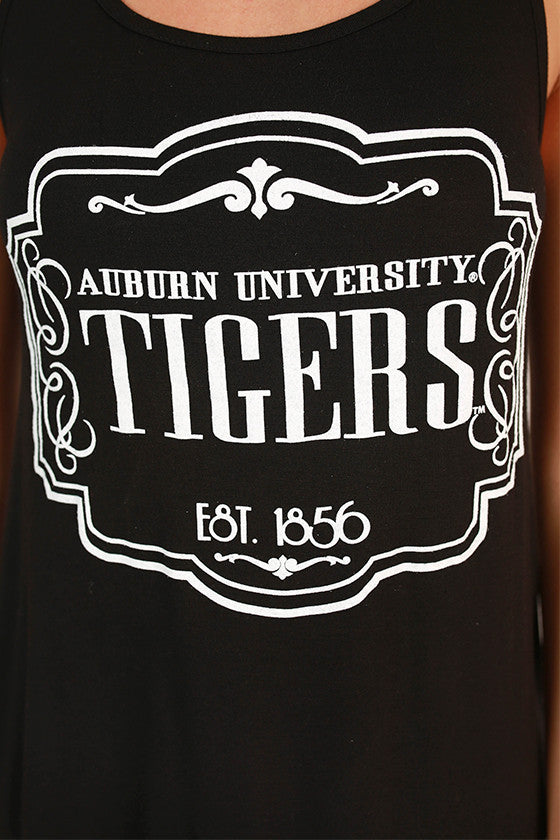Crochet Trim Tank Auburn University