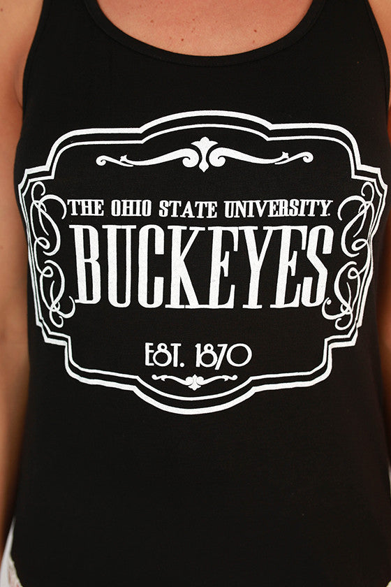 Crochet Trim Tank Ohio State University