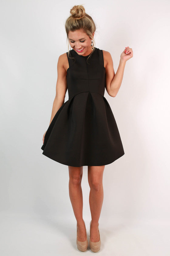 The Girl Of The Hour Dress in Black