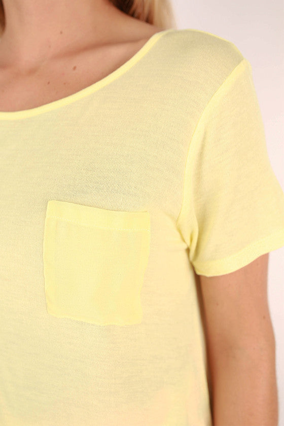 Seize The Day Top in Yellow