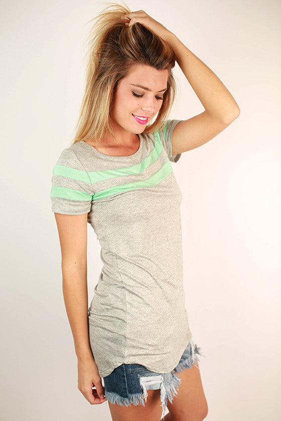 Call Me Darling Tee in Mint