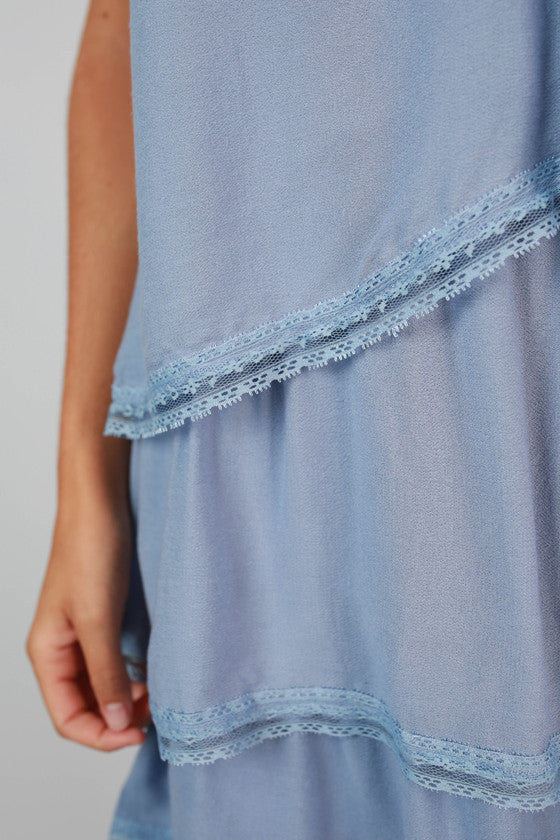 Party All Day Tunic in Periwinkle