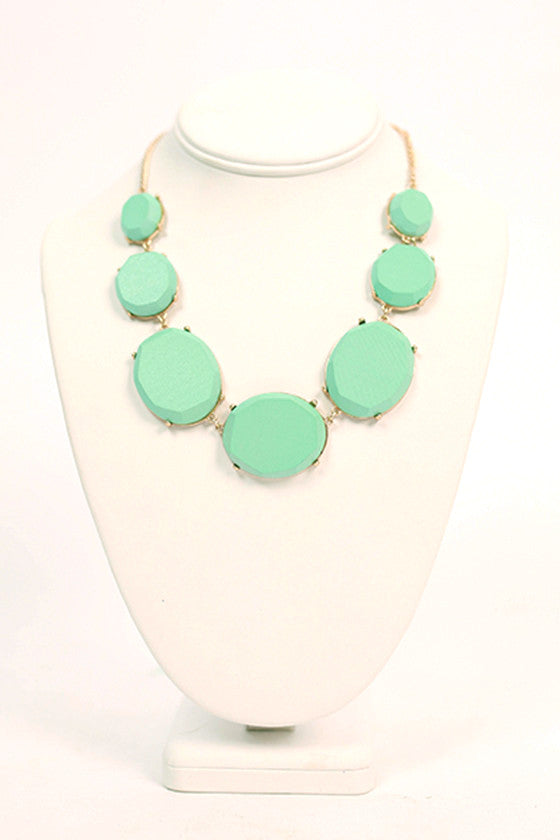 Must Have Necklace in Aqua Sky