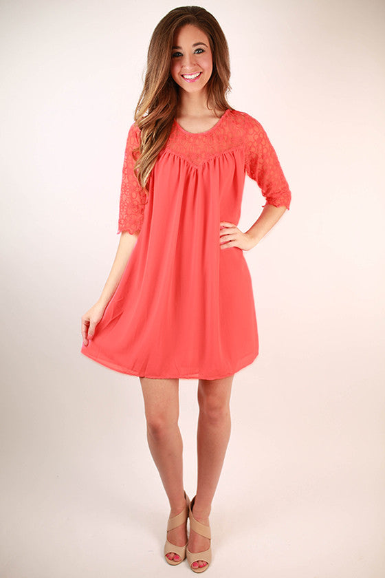 She's A Beauty Shift Dress in Calypso