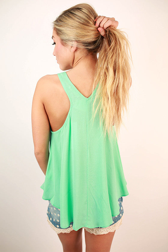 Sunkissed Coast To Coast Tank in Ocean Wave