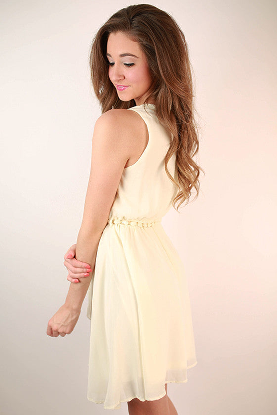 Feeling Photogenic Tank Dress in Cream