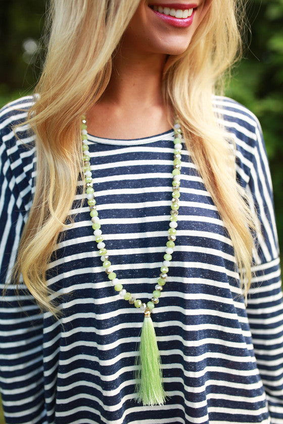 Marvelous Find Necklace in Seafoam