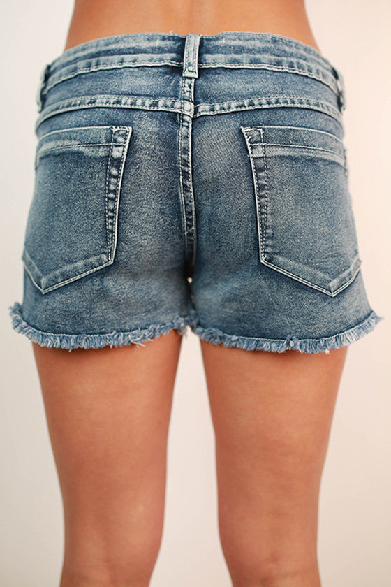 Patio Party Denim Shorts