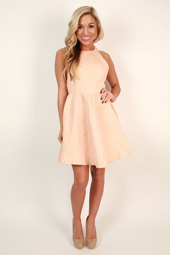 Sweet Roses Fit & Flare Dress